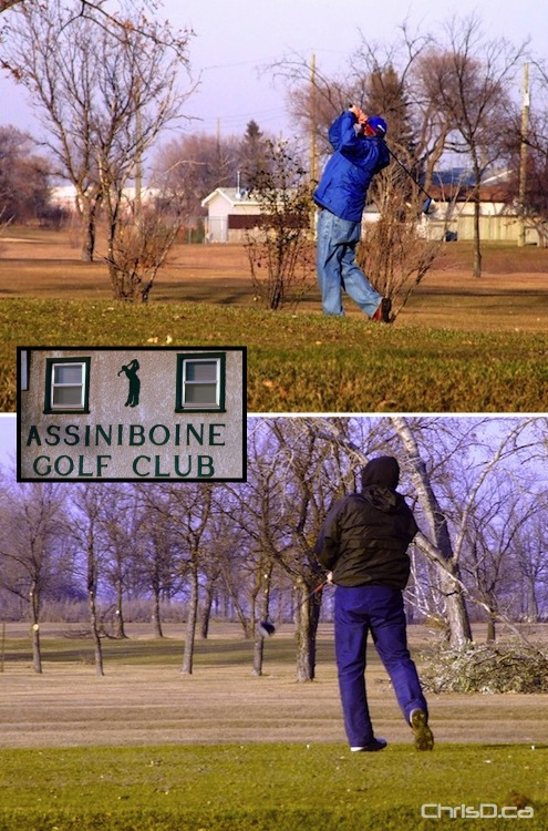 Assiniboine Golf Club - November 20 2009