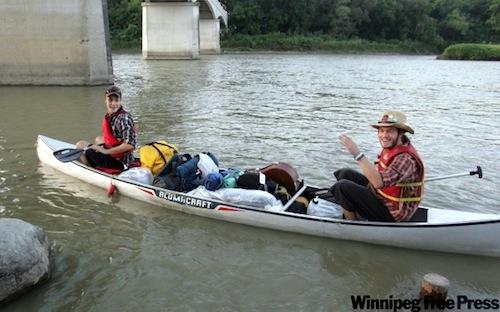 Murray Jowett - Nick Turnbull - Canoeists