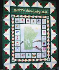 Manitoba Homecoming 2010 Quilt