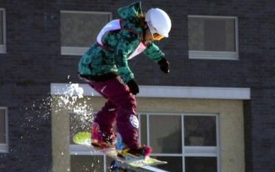 Snowboarders to Compete in 'Snow Jam' at The Forks