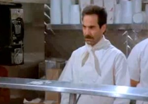 The infamous Soup Nazi from 'Seinfeld.'