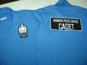 Winnipeg Police Service - Cadet Uniform