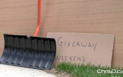 It's Almost Time for Winnipeg's Fall Curbside Giveaway Weekend
