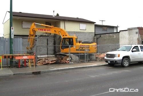 Henderson Highway Demolition