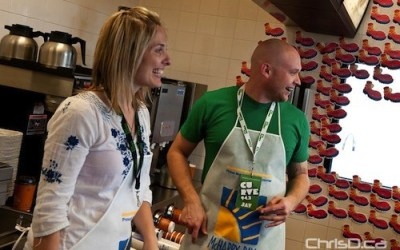 Local Celebs Lend a Hand on McHappy Day