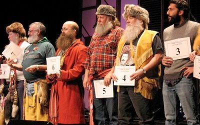 Beard-Growing Contestants Supporting Heart & Stroke Foundation