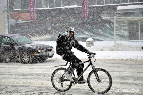 Winter Cyclist