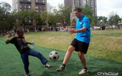 Inner-City Youth Get Free Soccer Tickets