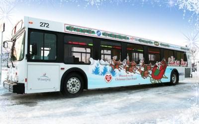 Winnipeg's Santa Bus on the Streets Until Christmas Eve