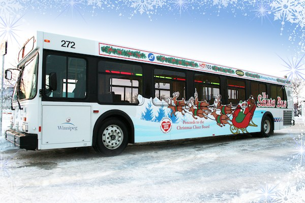 Santa Bus (CITY OF WINNIPEG)