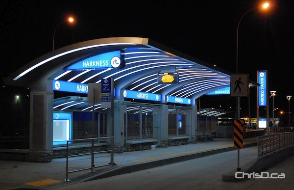 The Harkness Rapid Transit station (STAN MILOSEVIC / MANITOBAPHOTOS.COM)