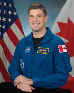 Astronaut Major Jeremy Hansen (CANADIAN SPACE AGENCY)