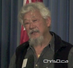 David Suzuki (CHRISD.CA FILE)