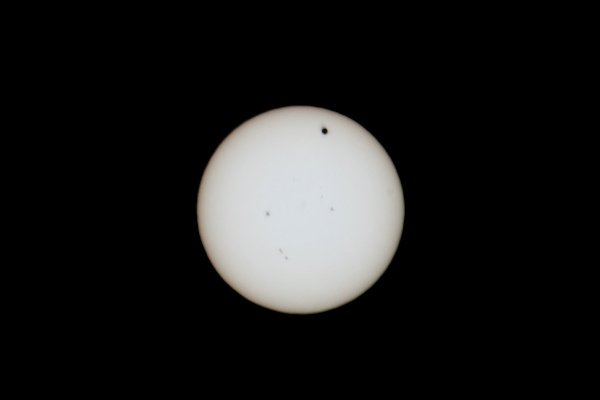 Winnipeg photographer David Williams took this shot of the transit of Venus. (SUBMITTED PHOTO)