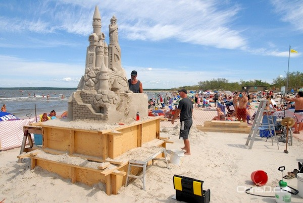 Grand Beach Sand Castle Record