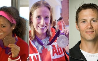 Local Olympic Athletes Greeting Fans on Monday