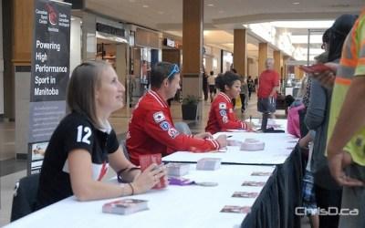 Winnipeg Olympians Meet Their Fans