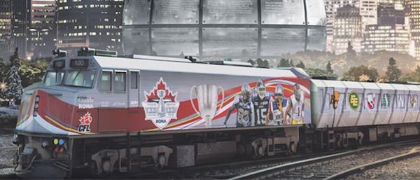 Grey Cup Train Tour