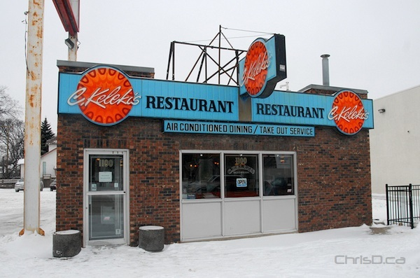 Kelekis Restaurant, 1100 Main Street, will close on January 30, 2013. (STAN MILOSEVIC / CHRISD.CA)