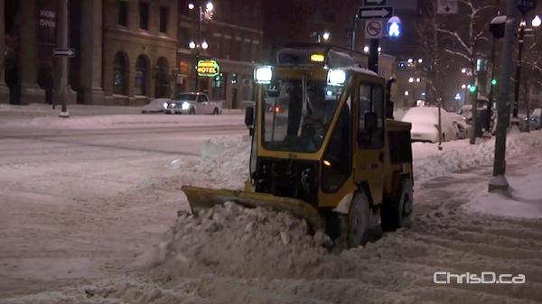 Winnipeg Sidewalk Plow