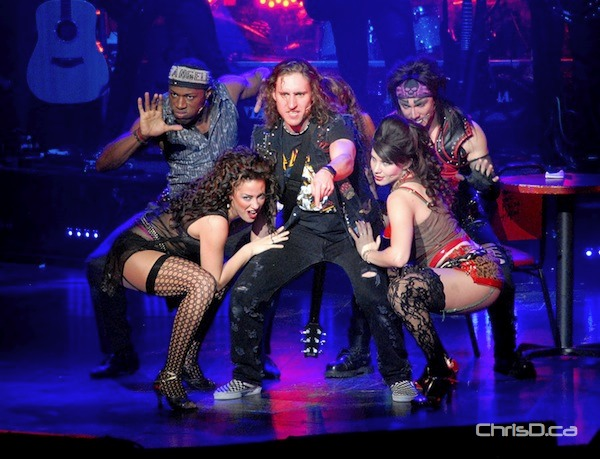 Rock of Ages at the Centennial Concert Hall on Tuesday, December 11, 2012. The productions runs until Thursday. (STAN MILOSEVIC / CHRISD.CA)