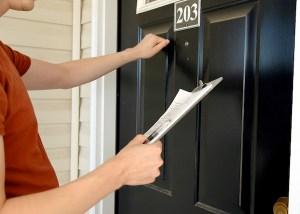 Door-to-Door Salesman