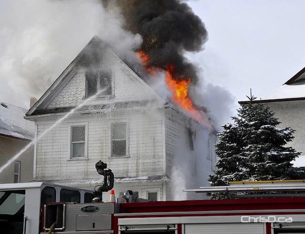 Maryland Street Fire