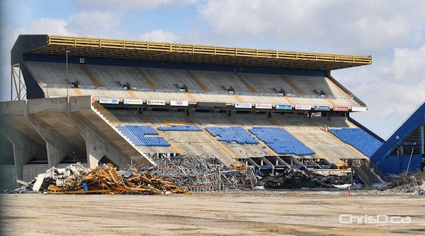 Canad Inns Stadium Demolition