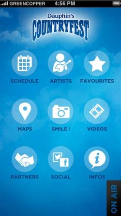 Dauphin's Countryfest App