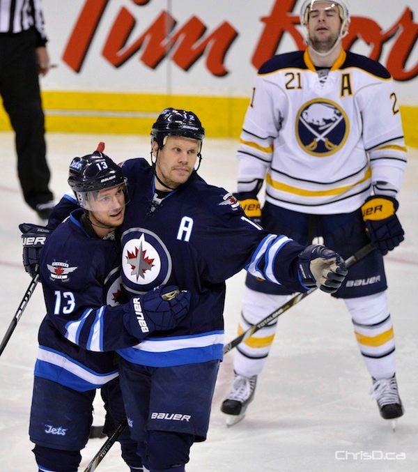 Kyle Wellwood - Olli Jokinen - Winnipeg Jets