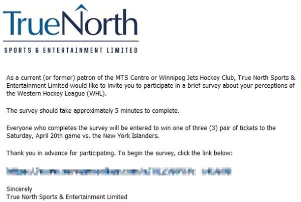 WHL Survey