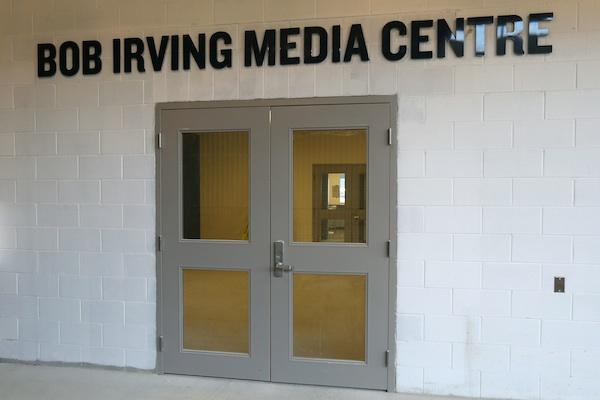 Bob Irving Media Centre