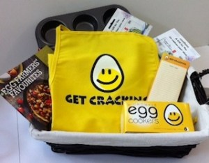 Eggs Giveaway Basket