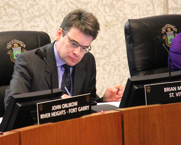 Winnipeg Councillor Brian Mayes (METRO WINNIPEG / FILE)