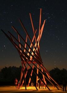 Winnipeg Folk Festival - Village Tower