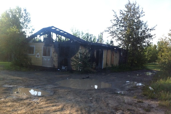 St. Theresa Point RCMP Fire
