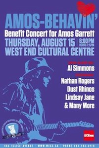 Amos Garrett Benefit Concert