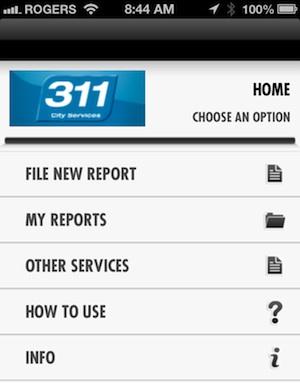 Winnipeg 311 App