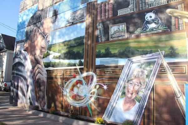 Bill Norrie Mural