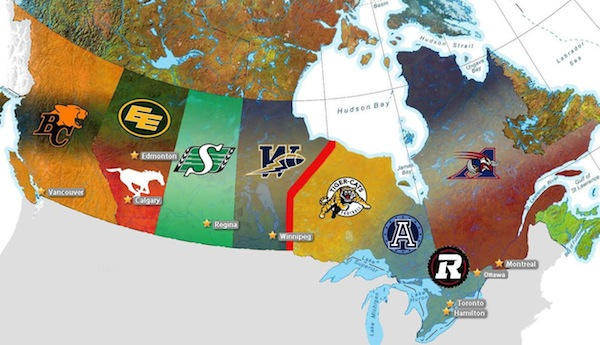CFL Divisions