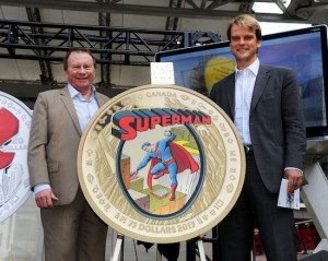 Royal Canadian Mint - Superman Coin