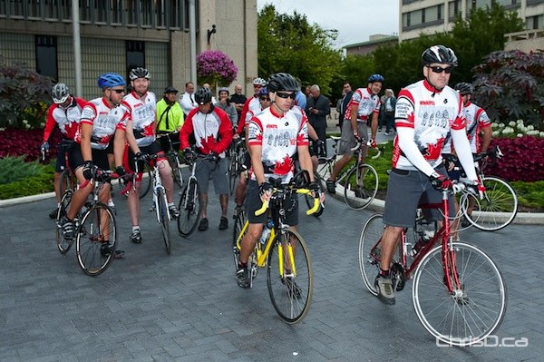 Winnipeg Police Service Cops for Kids Bicycle Relay