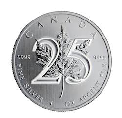 Silver Maple Leaf Bullion Coin
