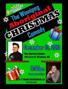 Winnipeg Aboriginal Christmas Comedy Show