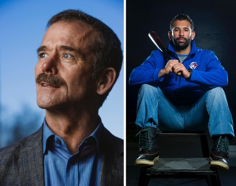 Chris Hadfield - Jose Bautista