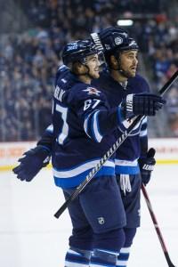 Michael Frolik - Dustin Byfuglien - Winnipeg Jets