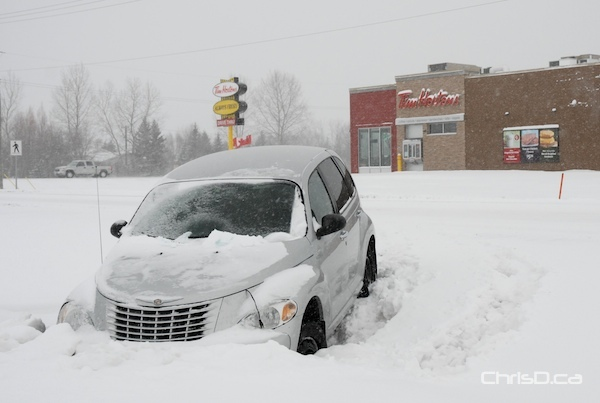 Stuck Car