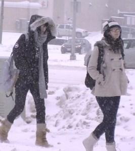 Winter Pedestrians