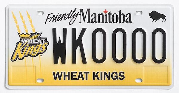 Brandon Wheat Kings Plate