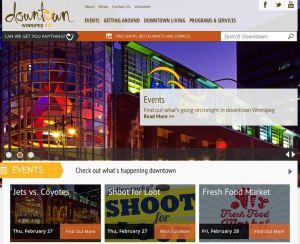 Downtown Winnipeg BIZ Website